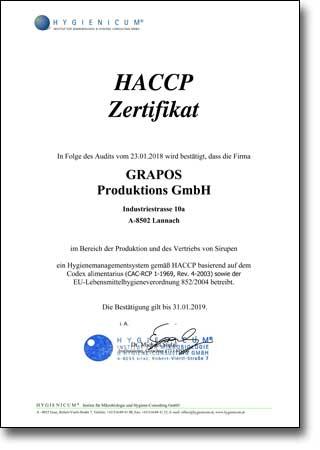 HACCP_Produktion