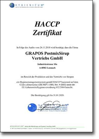HACCP_Vertrieb