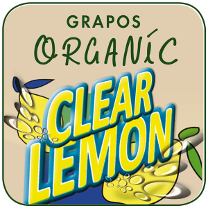 Grapos ORGANIC Clear Lemon
