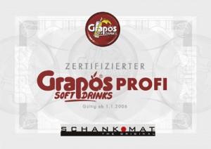 Grapos Profi - Zertifikat, Klick für mehr Info